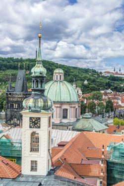Czech Republic, Bohemia, Prague, Prague Rooftops by Rob Tilley