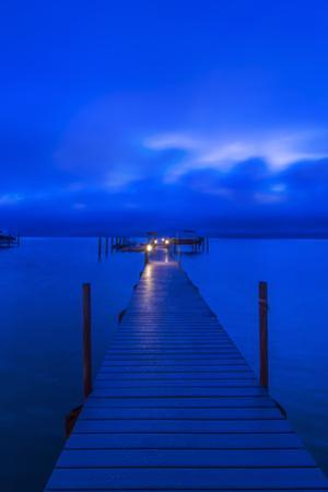 Florida, Sanibel, Private Dock at dawn by Rob Tilley