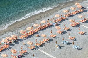 Italy, Amalfi Coast, Positano Beach by Rob Tilley
