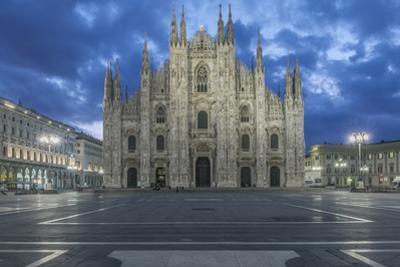 Italy, Milan, Cathedral Duomo di Milano at Dawn by Rob Tilley