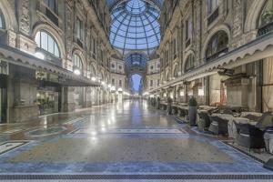 Italy, Milan, Galleria Vittorio Emanuele II at Dawn by Rob Tilley