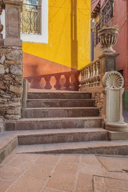 Mexico, Guanajuato, Steps and Shadows by Rob Tilley