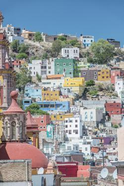 Mexico, Rooftop View of Guanajuato by Rob Tilley