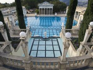 Neptune Pool at Hearst Castle, San Simeon, California, USA by Rob Tilley