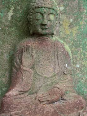 Saikyoji Temple, Buddha Statue, Hirado, Nagasaki, Japan by Rob Tilley