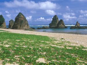 Sea Stacks, Yambaru Coastline, Okinawa, Japan by Rob Tilley