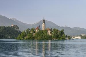 Slovenia, Bled, Bled Island by Rob Tilley