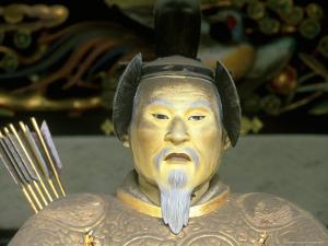 Statue of Tokugawa Shogun, Toshogu Shrine, Tochigi, Nikko, Japan by Rob Tilley