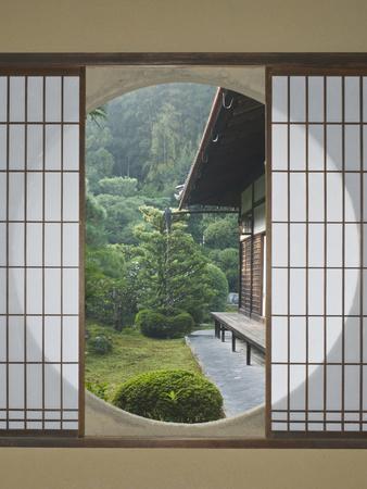 Tea House Window, Sesshuji Temple, Kyoto, Japan