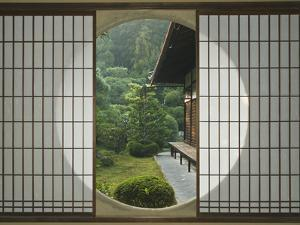 Tea House Window, Sesshuji Temple, Kyoto, Japan by Rob Tilley