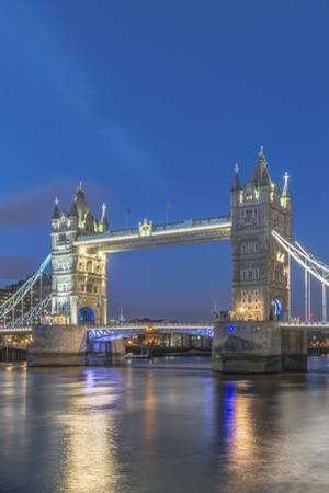UK, London. Twilight Tower Bridge by Rob Tilley
