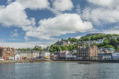 UK, Scotland, Oban Town and Harbor by Rob Tilley