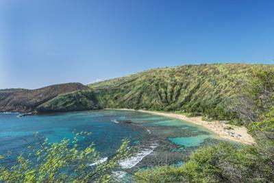 USA, Hawaii, Oahu, Hanauma Bay by Rob Tilley