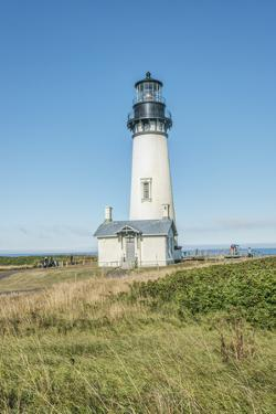 USA, Oregon. Yaquina Head Natural Area, Yaquina Head Lighthouse. by Rob Tilley