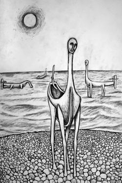 Walking with Boats, 2014 by Rob Woods