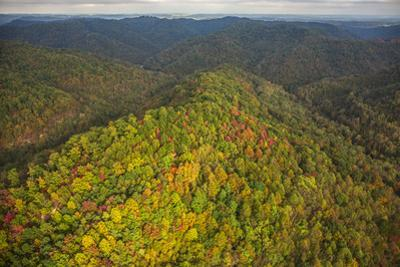 Mountains Undisturbed by Mountain Top Removal Mining Activities by Robb Kendrick