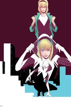 Edge of Spider-Verse No. 2 Cover, Featuring: Gewn Stacy, Spider Woman by Robbi Rodriguez