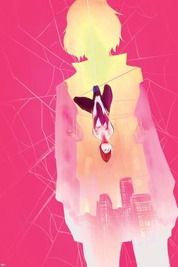 Spider-Gwen Annual No. 1 Cover Art Featuring: Gwen Stacy, Spider-Gwen by Robbi Rodriguez