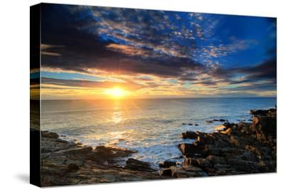 Sunrise over the Atlantic Ocean Off the Rocky Coast of Maine by Robbie George