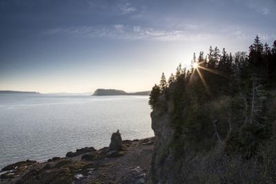 The Seascape from a Rocky Overlook by Robbie George
