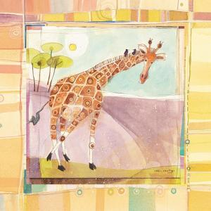 Playful Giraffe by Robbin Rawlings