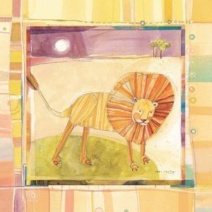 Playful Lion by Robbin Rawlings