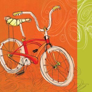 Vintage Banana Bike by Robbin Rawlings