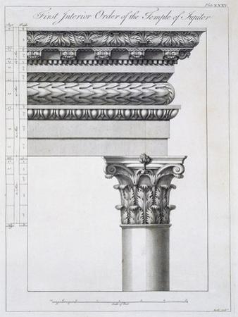 Order of the Portico to the Vestibulum in the Peristylium