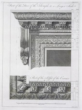 Part of the Door of the Temple
