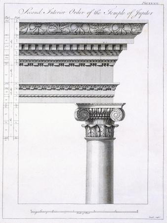 Second Interior Order of the Temple of Jupiter