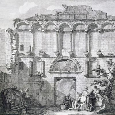 The Porta Aurea, from 'Ruins of the Palace of Emperor Diocletian at Spalatro in Dalmatia'