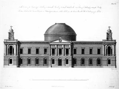 The South Elevation of Register House, Edinburgh, Engraved by J. Roberts, 1773
