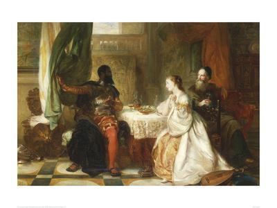 Othello Relating His Adventures, 1869