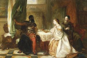 Othello Relating His Adventures, 1869 by Robert Alexander Hillingford