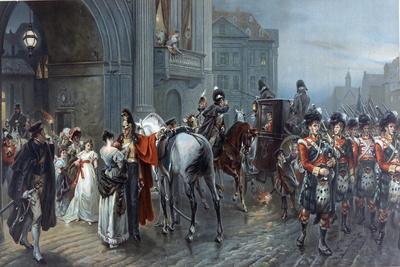 Summoned to Waterloo, Brussels, 1815, C.1898