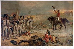 The Last Stand of the Imperial Guards at Waterloo in 1815 by Robert Alexander Hillingford