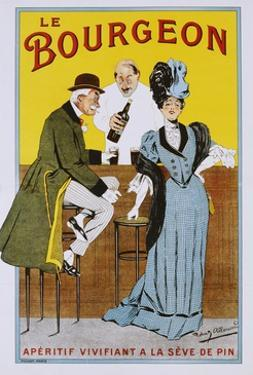 Le Bourgeon Poster by Robert Allouard