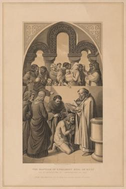 'The Baptism of Ethelbert King of Kent', 597 (1878) by Robert Anderson