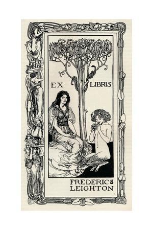 'A Bookplate', 1894, (1894)