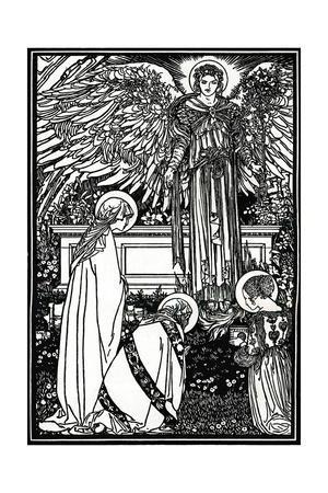 'Illustration for The Altar Book', 1892, (1897)