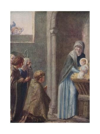 'The Adoration of the Magi', late 19th century, (1912)