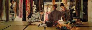 The Silk Merchant, 1890-93 by Robert Blum
