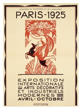 Paris Art Exposition, c.1925 by Robert Bonfils