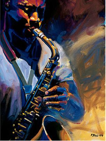 Bourbon Street Blues I by Robert Brasher