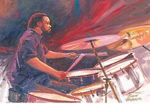 Bourbon Street Blues IV by Robert Brasher