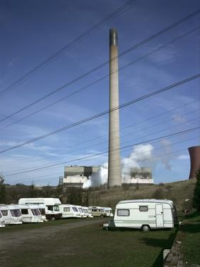 Caravan Site next to Powewr Station by Robert Brook