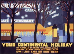 Your Continental Holiday by Robert Brown