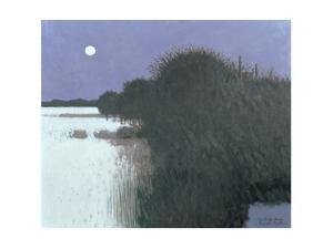 Night Landscape with Snow, 1979 by Robert Buhler