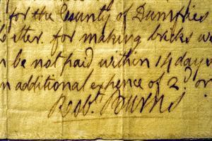 Robert Burns' Signature by Robert Burns