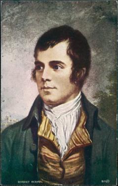 Robert Burns Scottish National Poet Portrait